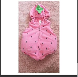 Carters 12 month strawberry costume